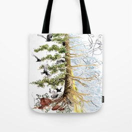 The Woods and The Water Tote Bag