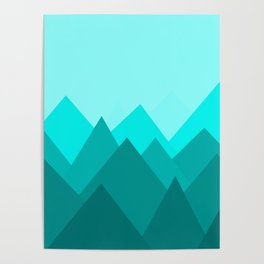 Simple Montains Poster