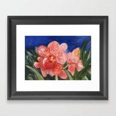Midnight Beauty Framed Art Print