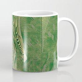 5360s-MAK Naked Motherboard Fine Art Nude Wired Woman Coffee Mug