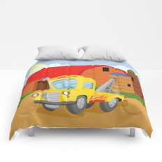 TOW TRUCK (GROUND VEHICLES) Comforters