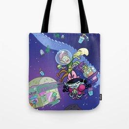 Luna the Vampire - Snack time! Tote Bag