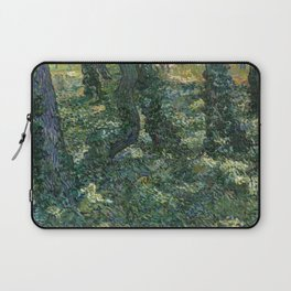 """Vincent Van Gogh """"Trees and undergrowth"""" Laptop Sleeve"""