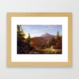 Thomas Cole The Hunter's Return Framed Art Print