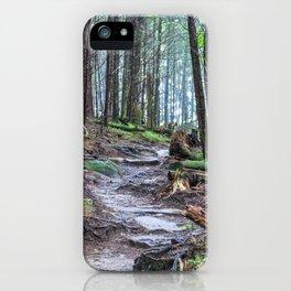 Through the Wilderness iPhone Case