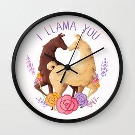 I Llama You Wall Clock
