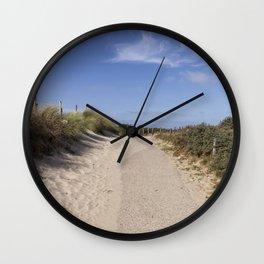 Through the Dunes Wall Clock