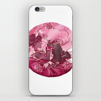 utena iPhone & iPod Skins featuring Utena x Anthy by Ravenno