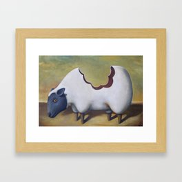 The Sheep's Back Framed Art Print