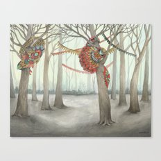 In the Quilted Forest I  Canvas Print