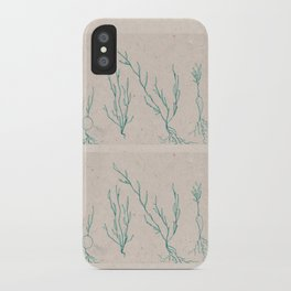 Plants in a Line iPhone Case