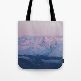 Perfect sunrise in South Tyrol - Landscape and Nature Photography Tote Bag