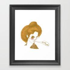 Alice Lane Framed Art Print