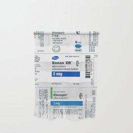 Drug Labels Wall Hanging