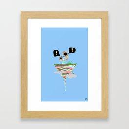 Dreaming for an adventure. Framed Art Print