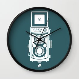 Yashica MAT 124G Camera Wall Clock