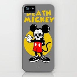 death mickey iPhone Case