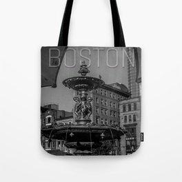 A Gleam of Sunshine - Boston Common Fountain Tote Bag