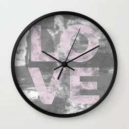 LO VE Wall Clock