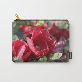 Glorious Giant Red Hibiscus Carry-All Pouch