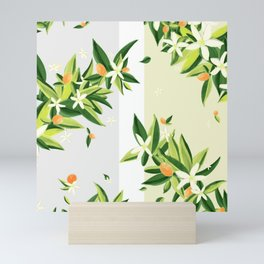 Magnolia Stripe Mini Art Print