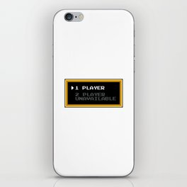 Player 1 Player 2 Unavailable iPhone Skin