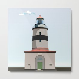 The lighthouse of Falsterbo Metal Print
