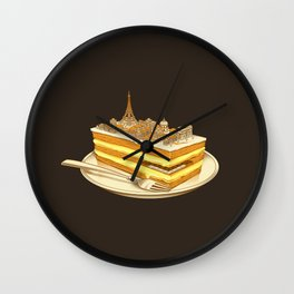 Hungry for Travels: Slice of Paris Wall Clock