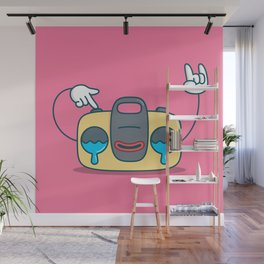 Nostalgic Stereo Wall Mural