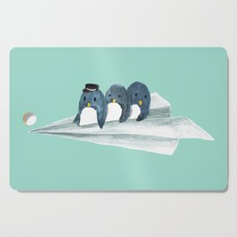 Let's travel the world Cutting Board