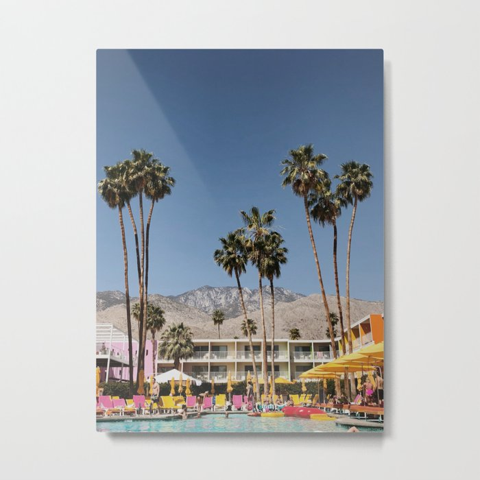 Palm Springs #society6 #decor #buyart Metal Print