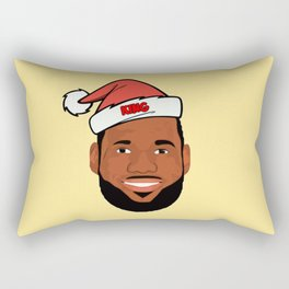 Lebron Christmas Rectangular Pillow