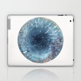 Capricorn & Aquarius friendship Laptop & iPad Skin