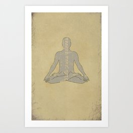 Find Your Center Art Print