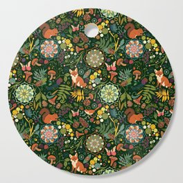 Treasures of the emerald woods Cutting Board