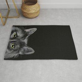 Curious Cat Rug