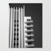 art deco Canvas Prints featuring Deco by SalAnthony