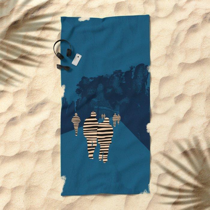 walking for oblivion Beach Towel