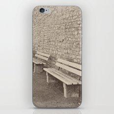 Saving a Seat for You iPhone & iPod Skin