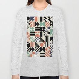 RAND PATTERNS #114: Procedural Art Long Sleeve T-shirt