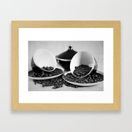 Kaffee Framed Art Print