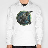 pacific rim Hoodies featuring Knifehead - Pacific Rim by Leamartes