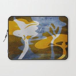 Monoprint Series Yellow 1 Laptop Sleeve