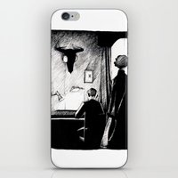 221b iPhone & iPod Skins featuring A 221B Scene by Carrianne Bullard