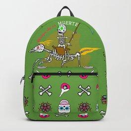 Design de la Muerte - Triumph of Death 1 (green) Backpack