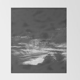 The Night Lands Throw Blanket