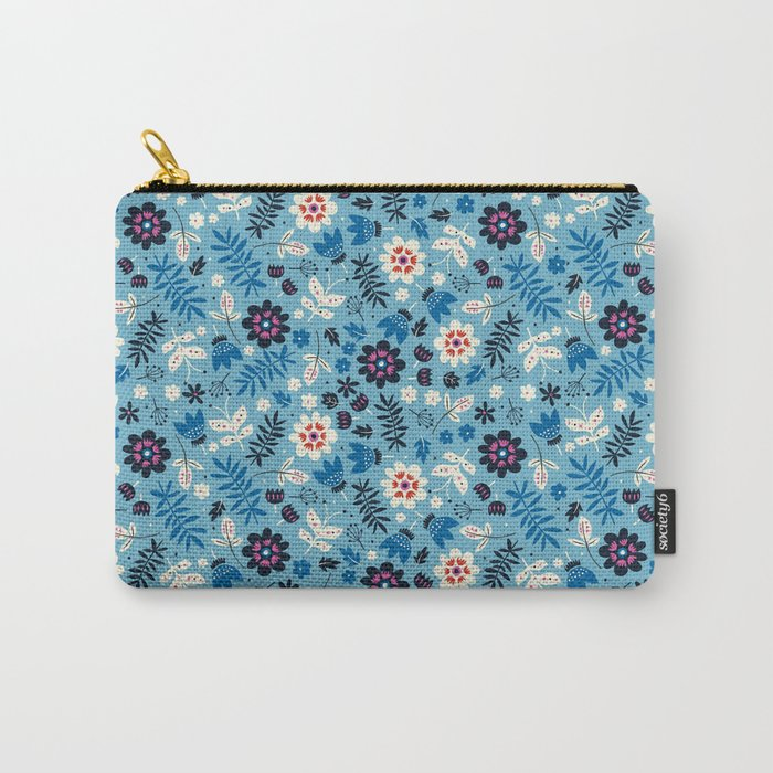 Fresh Blossoms Carry-All Pouch