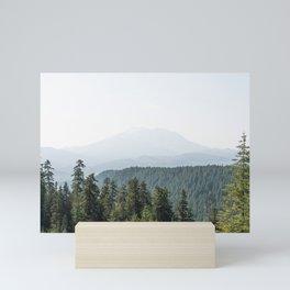 Lookout Ridge - Mountain Nature Photography Mini Art Print