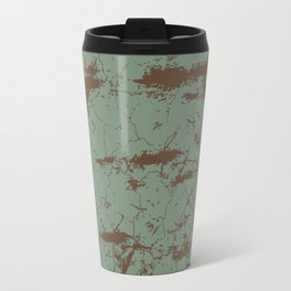 cracked concrete vintage wall background,old wall Travel Mug