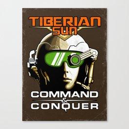 Tiberian Sun Commander Canvas Print